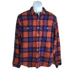 Urban Outfitters All-Son Brand Flannel Shirt Sz M